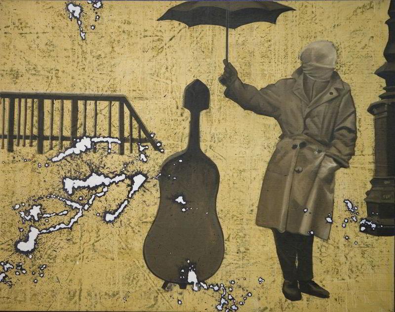 Umbrella, Masked Man